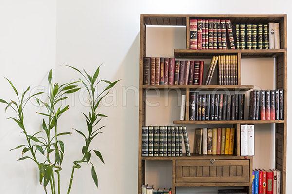 دکوراسیون داخلی منزل ایرانی به رنگ آجری و سبز