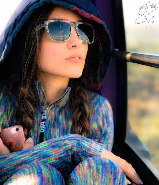 مدل های مانتو و استایل خاطره اسدی در اینستاگرام