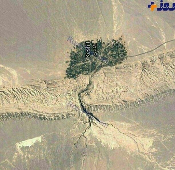 سفر به دره کشیت کرمان ، مسافت کرمان تا گلبافت و کشیت