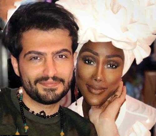 ازدواج پسر ایرانی با دختر ملکه آفریقایی   ترند فضای مجازی