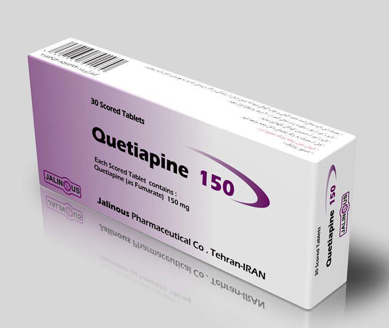 اطلاعات دارویی کوئتیاپین 25 Quetiapine ، عوارض و نحوه مصرف