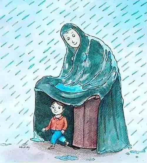 شعر درباره مادر از دست رفته | در سوگ مادر