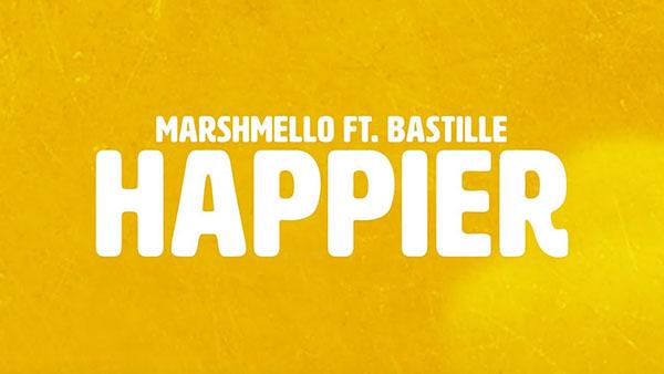 دانلود آهنگ Happier از MARSHMELLO و BASTILLE
