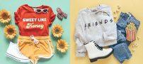 جذاب ترین ست های لباس دخترانه مد سال 2019