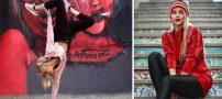 اینستاگردی با محدثه هنرمند ، از کاراته تا مدلینگ