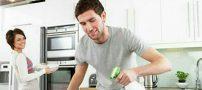 تقسیم کارهای منزل بین اعضای خانواده