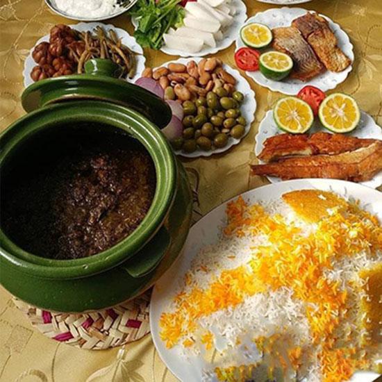 طرز تهیه گمج کباب گیلانی