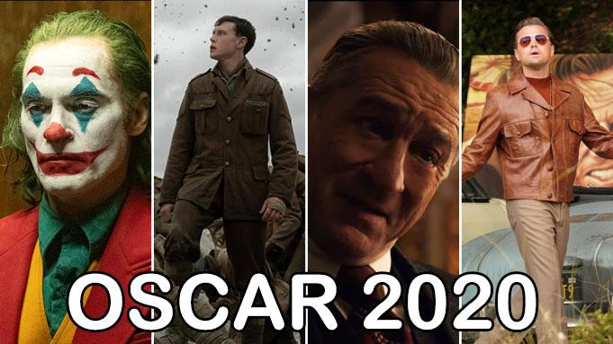 نامزدهای اسکار 2020 ، جوکر در صدر با 11 نامزدی