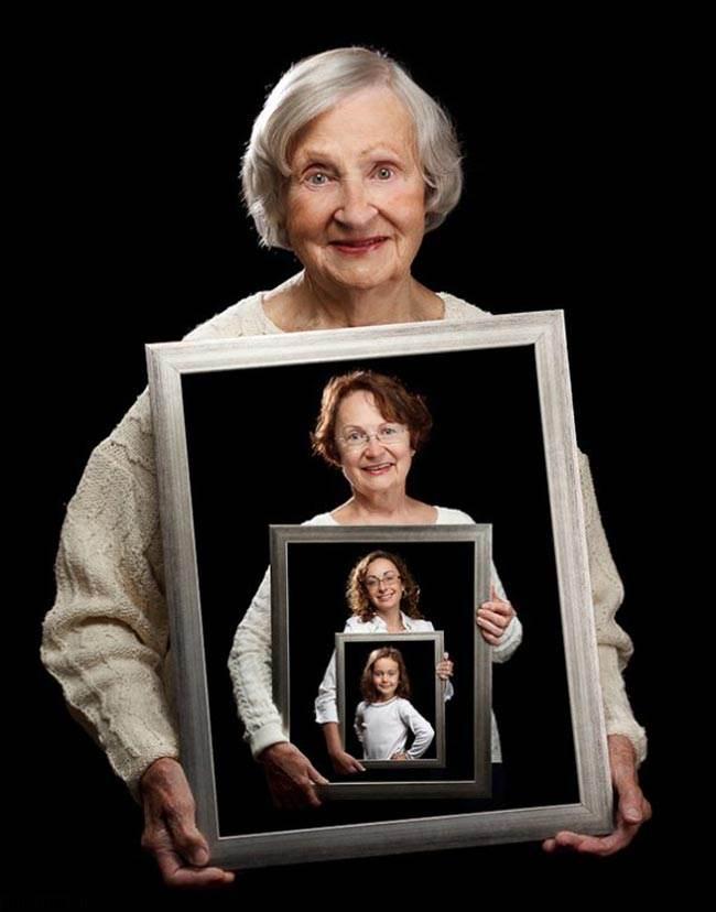 تصاویر دیدنی از گذر سال ها و عمر در انسان ها