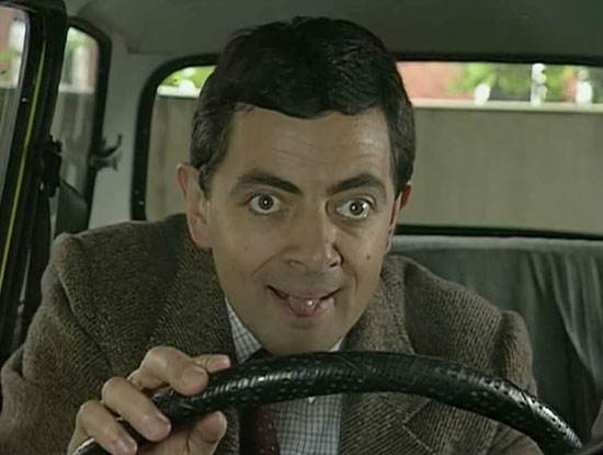 مستربین یکی از بامزه ترین کمدین های بریتانیا