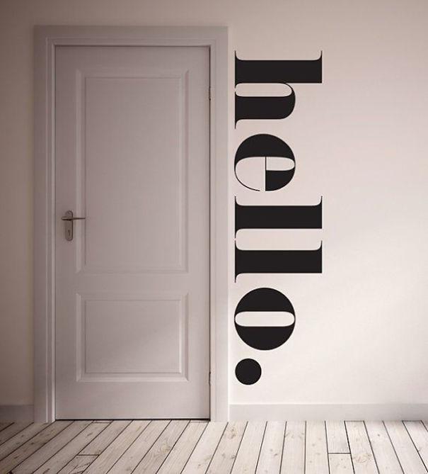 مدل های استیکر فوق العاده برای دیوار منازل شما