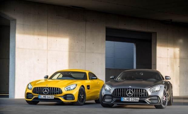 خودروسازی بنز با محصول AMG GT C 2018 می تازد