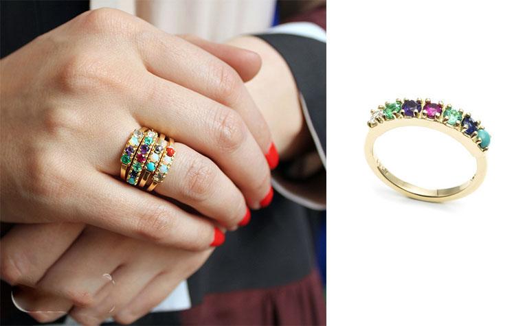 انواع مدل های حلقه انگشتر زیبا و شیک و لاکچری