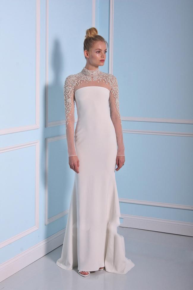 مدل های لباس عروس ساده و طرح دار مد سال 2020