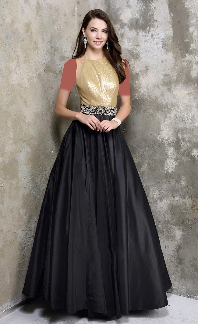 مدل های لباس مجلسی بلند با رنگ های مختلف