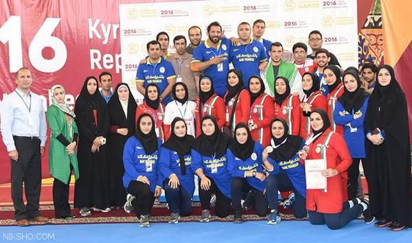 عکس های دیدنی از تمرینات کشتی زنان و دختران ایرانی