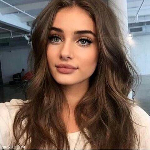 مدل آرایش ملایم صورت جذاب و جوان پسند