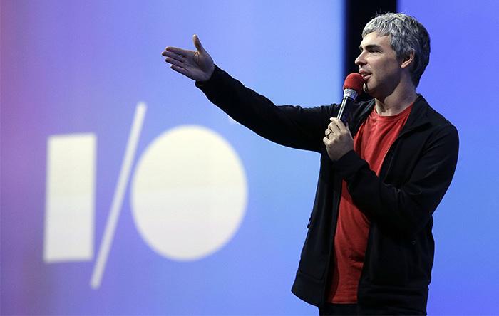 لری پیج موسس و مرد شماره یک شرکت گوگل