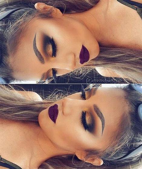 مدل های آرایش صورت ملایم زیبا و جذاب