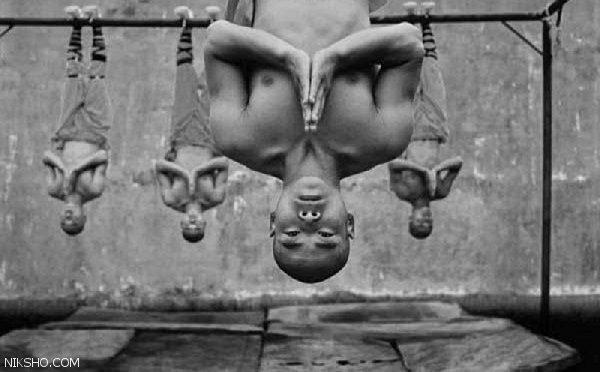 تصاویر تمرینات خاص و عجیب راهبان شائولین