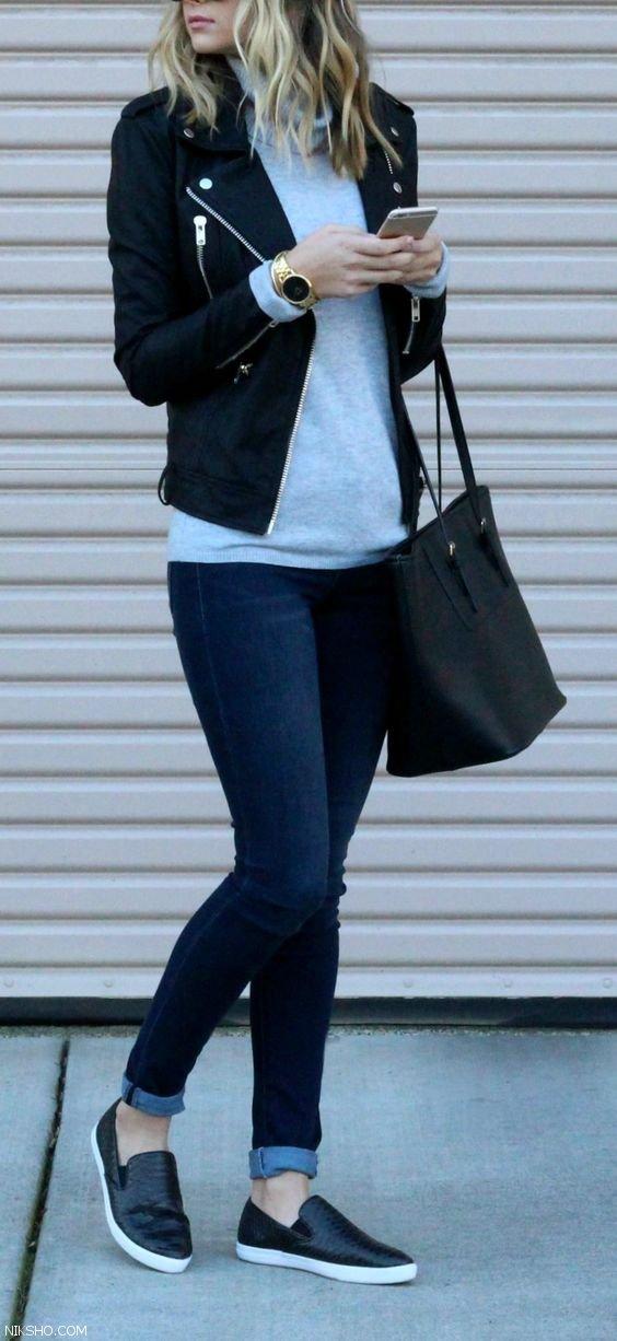 مدل لباس زنانه با استایل خیابانی شیک و زیبا