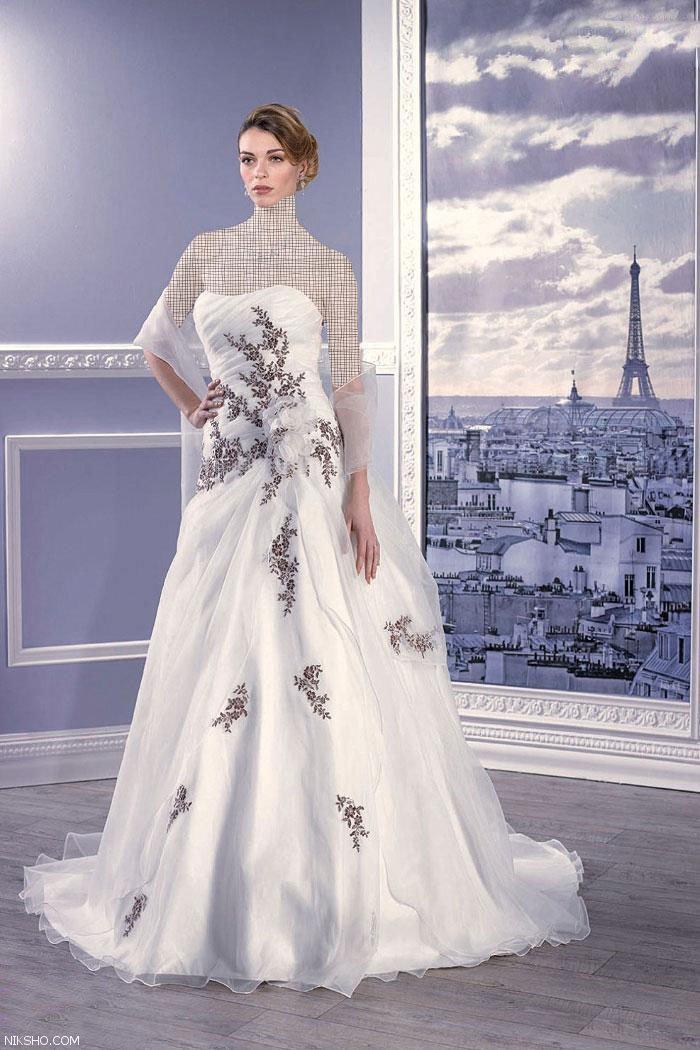 مدل های لباس نامزدی جدید برند faranak