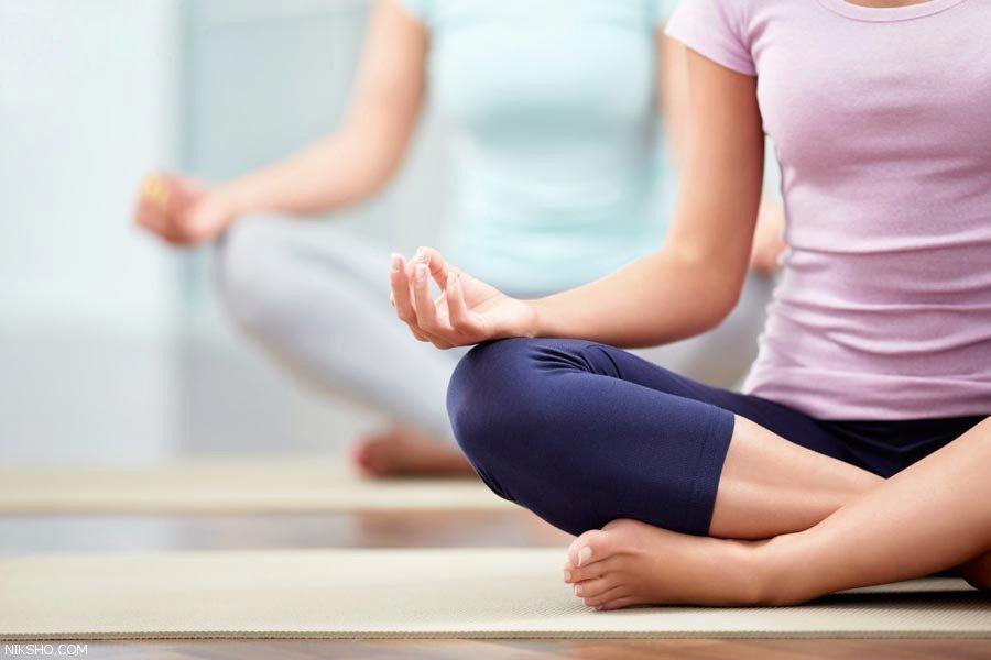 حرکات یوگا برای داشتن خواب راحت و آرام