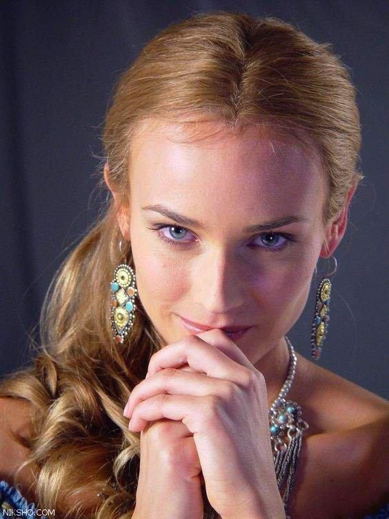دیانه کروگر بازیگری که فرشته زیبایی است