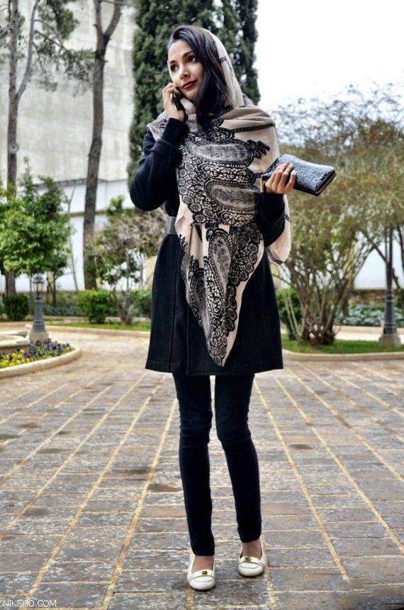 عکس مدل مانتو دخترانه جوان پسند و شیک 98