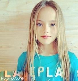 زیباترین دختر جهان با چشمانی خیره کننده اهل روسیه است
