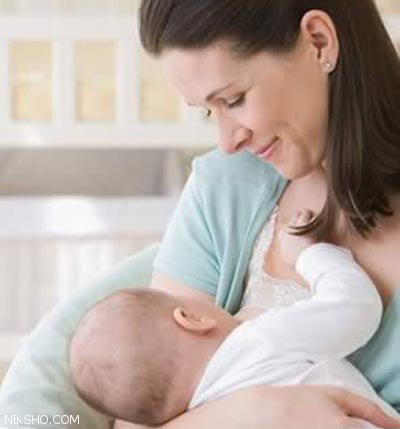 وقتی نوزاد تنها از یک سینه مادر شیر می خورد