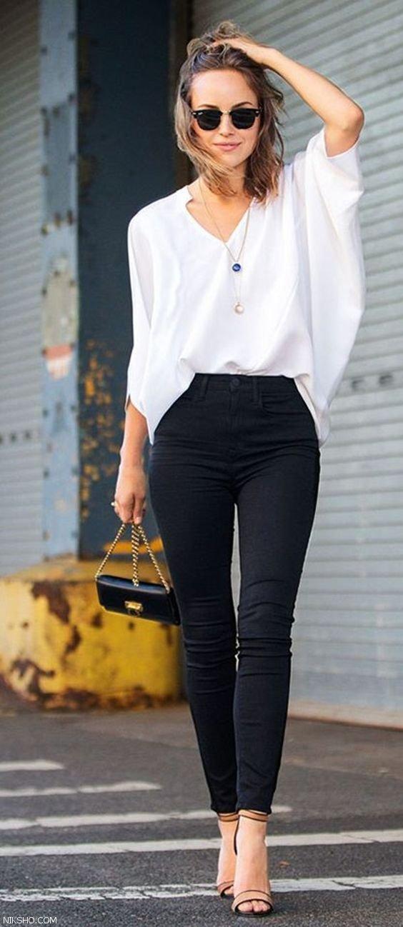 مدل های جدید شلوار جین زنانه شیک 2021