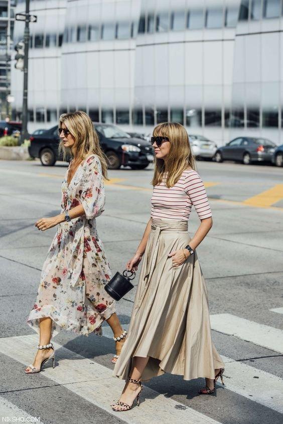 عکس مدل لباس زنانه استایل خیابانی شیک و زیبا