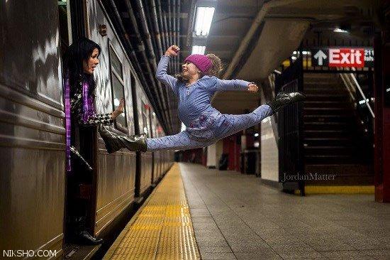 عکس های خیره کننده از رقص کودکان در جاهای مختلف