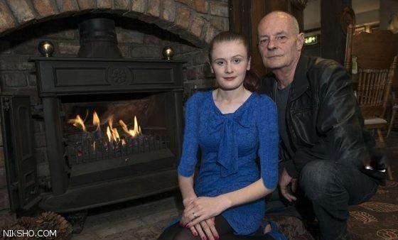 ازدواج عاشقانه دختر جذاب 18 ساله و سرایدار 60 ساله