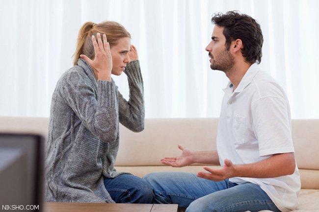 دعوای زوجین و آشکار شدن عمق رابطه زن و شوهری