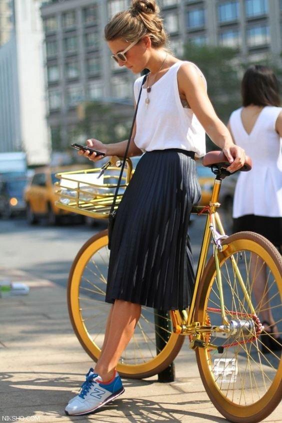 مدل های دامن زنانه استایل خیابانی زیبا و شیک