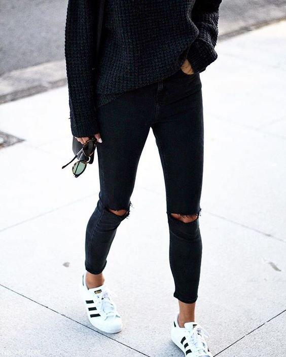 جدیدترین مدل های شلوار لی اسکینی زنانه