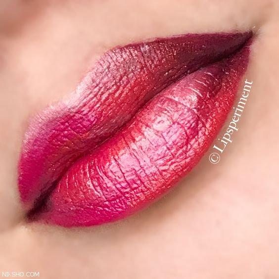 مدل آرایش لب +رنگ رژ لب جذاب و زیبا