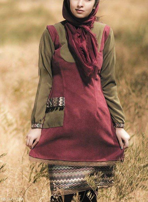 شیک ترین مدل مانتوهای ایرانی تابستانی از برند آتون