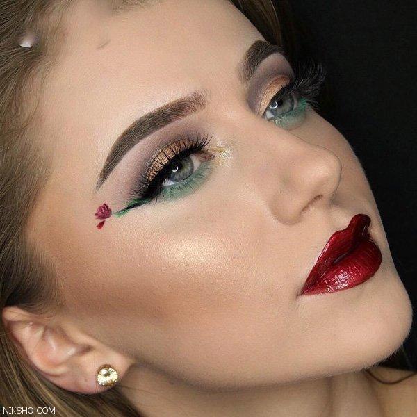جذاب ترین آرایش حرفه ای مخصوص خانم های خوش سلیقه