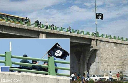 ماجرای نصب پرچم داعش روی پلی در شیراز