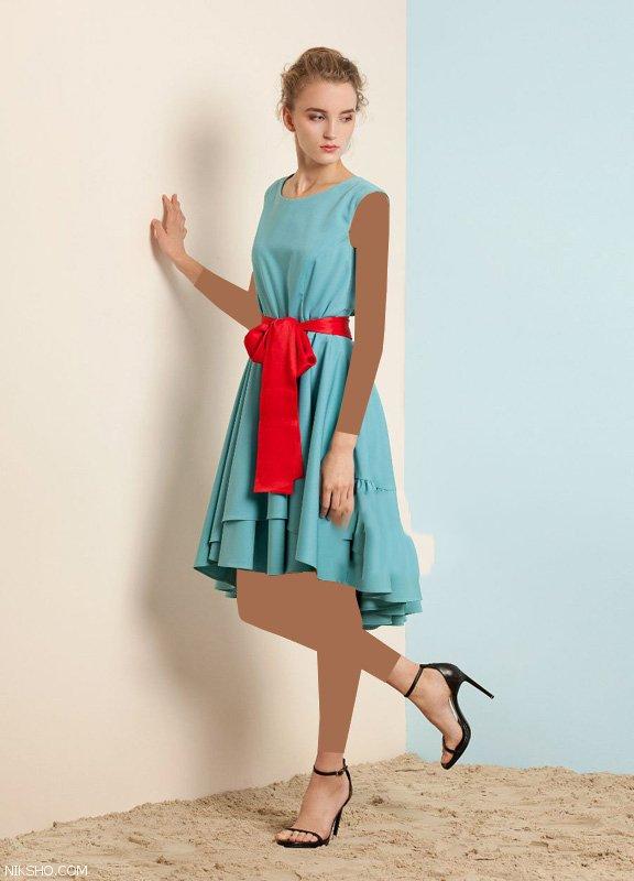 بهترین مدل های لباس زنانه زیبا و شیک مد تابستان 98