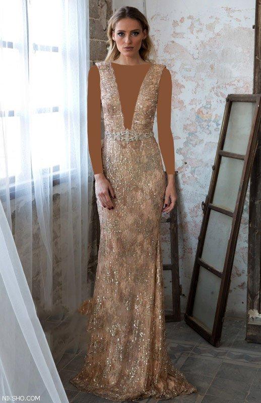 مدل لباس مجلسی زنانه شیک و جذاب از برند Galia Lahav