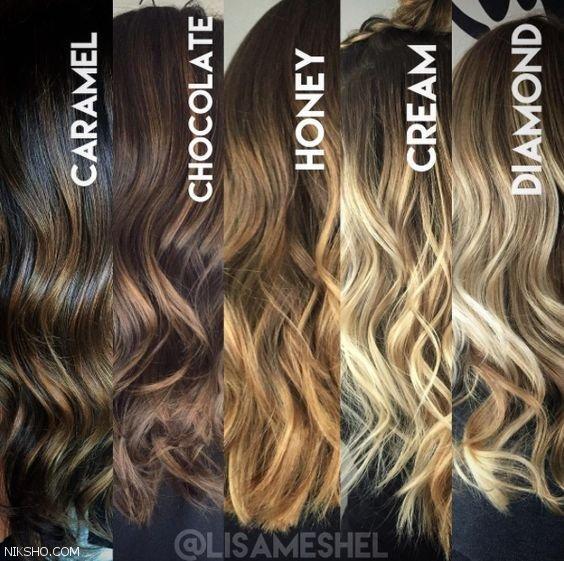 انواع جذاب رنگ موی زنانه +مدل موی زنانه 2021