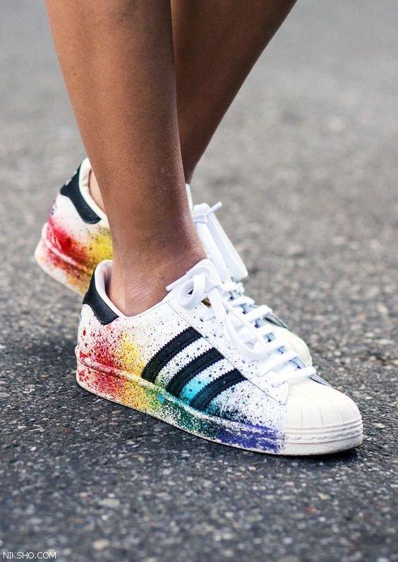 مدل های کفش اسپرت دخترانه برند آدیداس