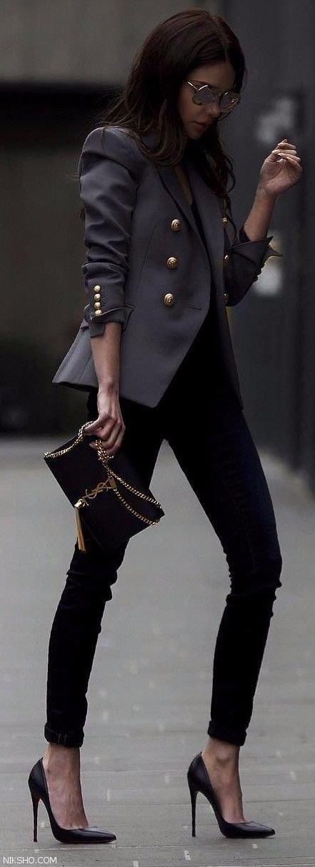 مدل لباس زنانه استایل خیابانی اسپرت و رسمی