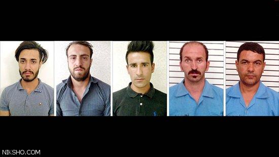 تجاوز همزمان 5 مرد به دختران در باغ متروکه