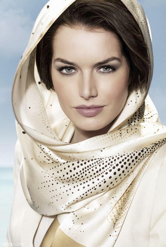 مدل های متنوع بستن روسری شیک و لاکچری