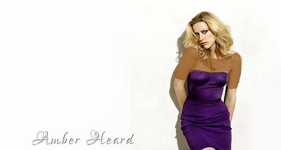 امبر هرد زیباترین و جذاب ترین زن جهان